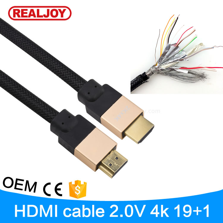 20m 66feet high quality speed Supports Ethernet 3D 1.4 2.0Version 4K HDMI Cable