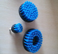 "5"" blue drill brush for cleaning car"