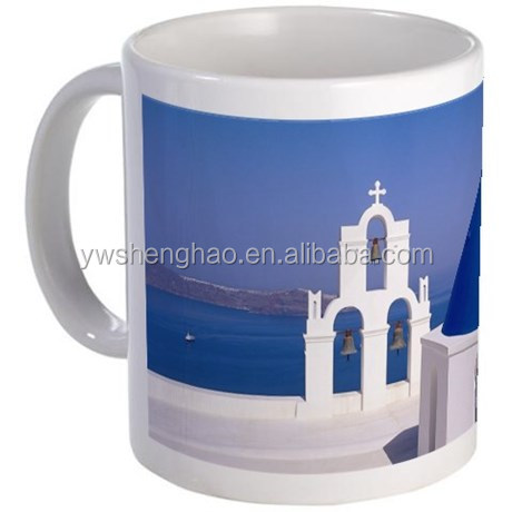 Church of St George Santorini Custom Printed sublimation mugs