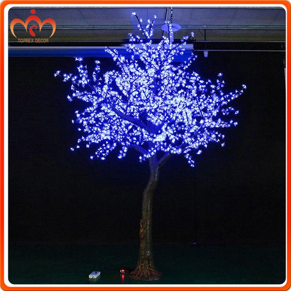 2592 LEDs Color changing led cherry blossom branch lights