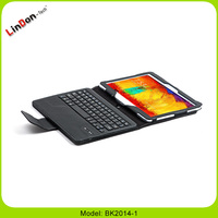 High Quality Bluetooth Leather Case Tablet Keyboard For Galaxy Note 10.1 P600(2014 Edition)