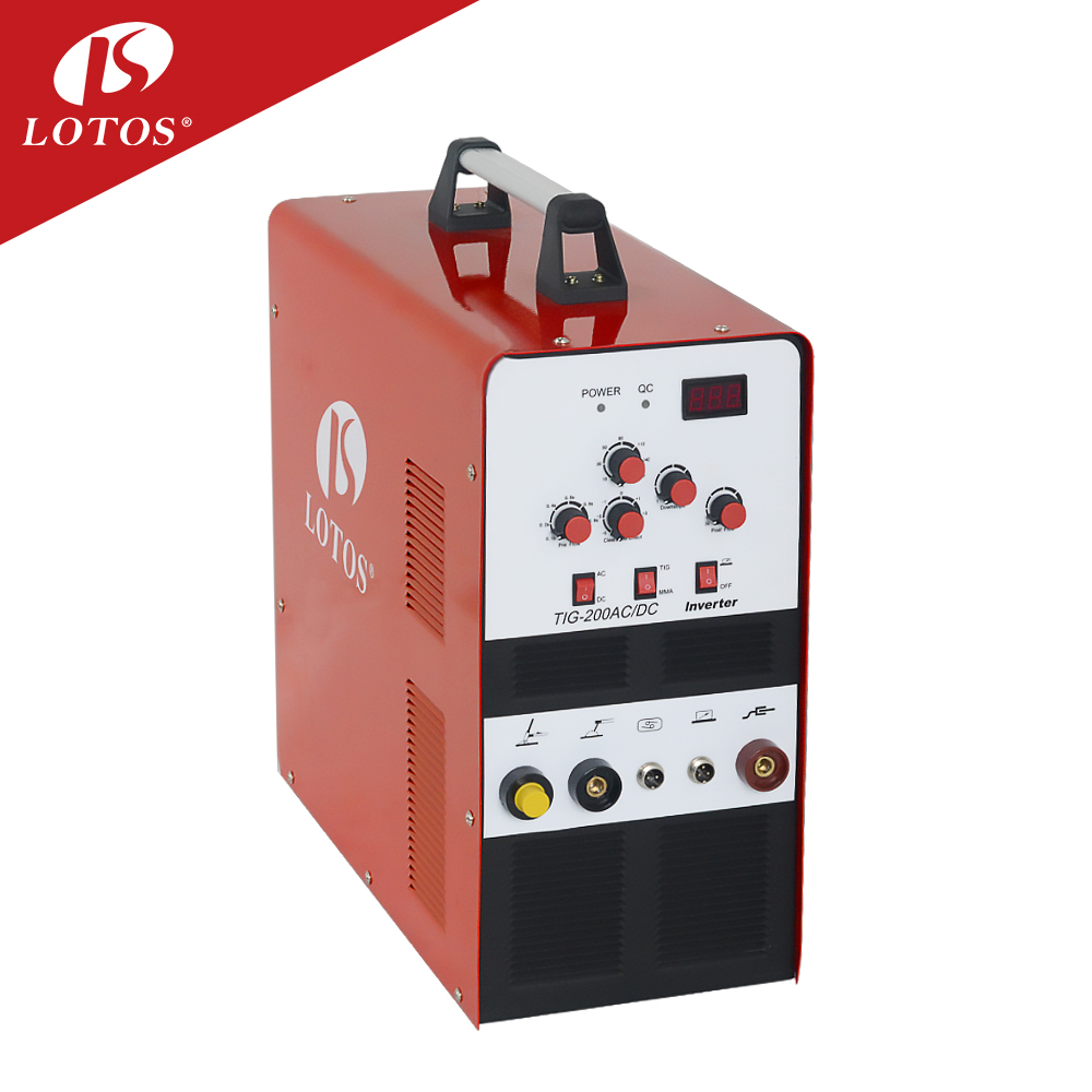 Lotos Tig200acdc Manufacturer good performance CE TUV approved ac dc tig welder tig <strong>welding</strong>