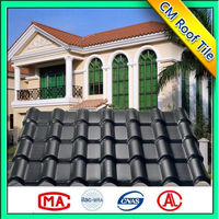 Custom Made Hot Sales Synthetic Resin Asian Style Roof Tile