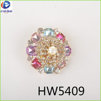 wholesale round circle crystal stainless steel pendant ,elegant round flower pattern girl's pendant