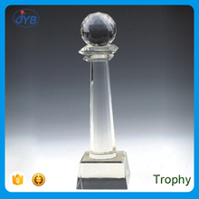 cheap custom various innovative design crystal trophies for sale