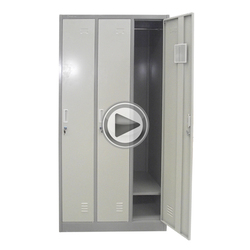 Low price 3 door metal military lockers assemble yourself furniture