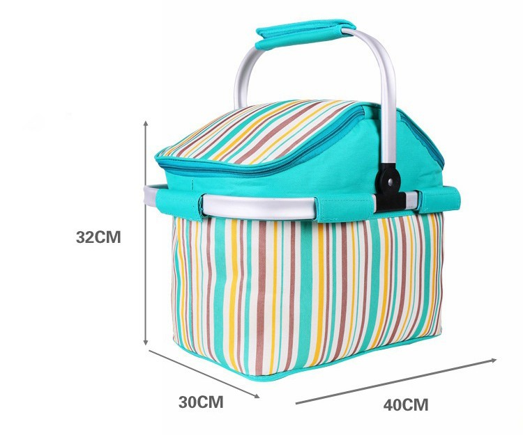 wholesale collapsible picnic basket set