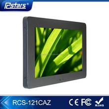 Rcstars oem/odm 12 inch android network lcd advertising display digital signage media player with wifi/CMS software(RCS-121CAZ)