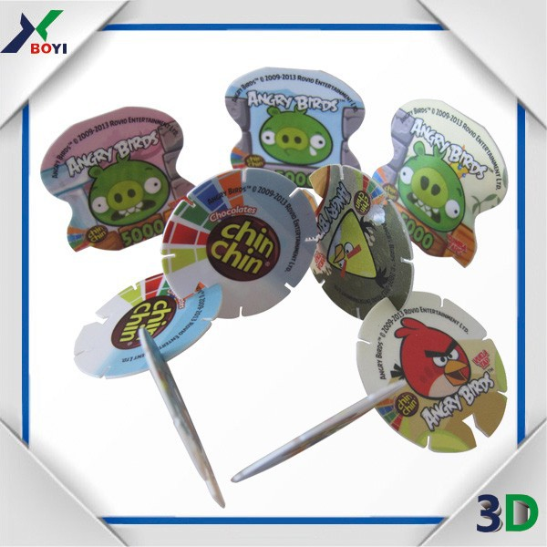 Children tazo card games for food promotion