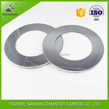 tungsten carbide corrugated slitter knives thin edge slitting blades