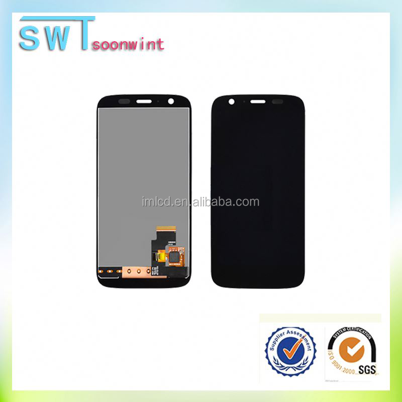 Replacement lcd screen assembly for motorola moto g xt1032 by dhl in alibaba