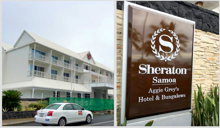 INEO Successful Hotel&Resort Project In Sheraton Aggie Grey's Hotel