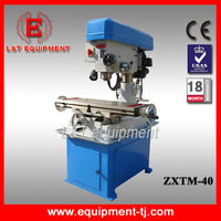 ZXTM-40 High Quality Mini Zx40 Milling Machine