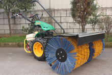 Gasoline 14HP Snow Sweeper for garden with CE EPA
