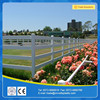 Hot Sale 3 Rails PVC Horse Fence (Strong UV Protection)