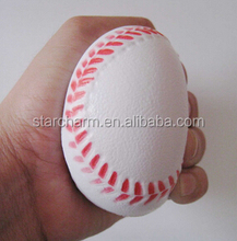 New Product Custom Anti Stress Custom Squeeze Promotion Mini Baseballs