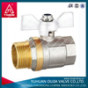 brass ball fisher valves a216wcb
