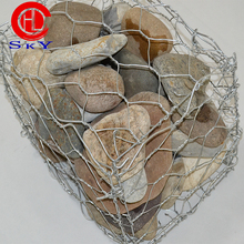 Hot Sale Galvanized Gabion Box / Gabion Stone Basket With Cheap Price (20 Years Factory)