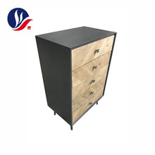 Custom Multi Drawer Modern Style Solid Wooden Bathroom Vanity Cabinet Furniture