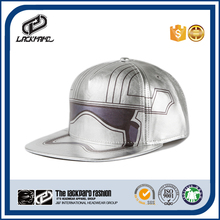 Most fashion design 5 panel hat manufacturer silver hip hop cap