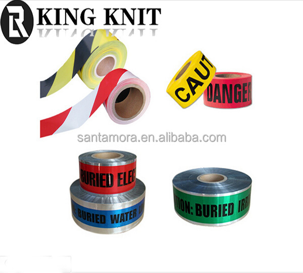 Detectable Aluminum Foil Warning Tape for protecting underground pipeline