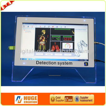 Model no.:AH-Q11 Touch screen Quantum resonance magnetic body health analyzer