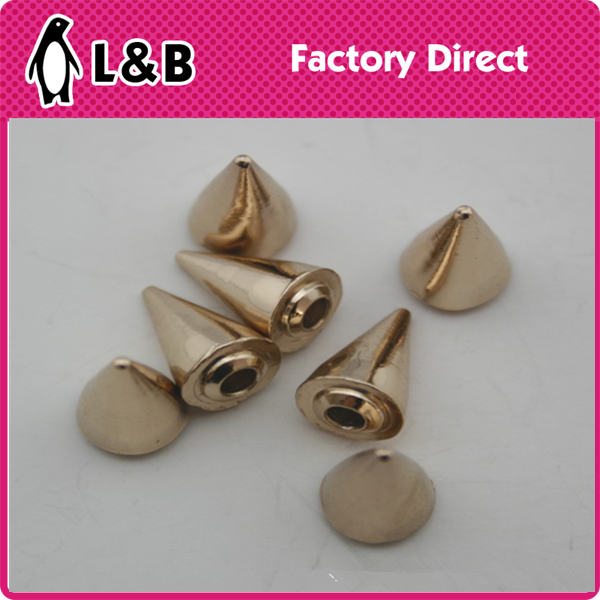 wholesale high quality new popular metal sharp rivet for garments