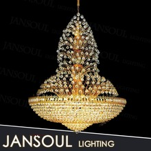 Zhongshan hot selling light led crystal glass like flower shape decoration luminaire