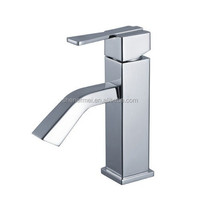 Series Modern Style Basin Mixer ,Chrome Finishing and Deck Mounted