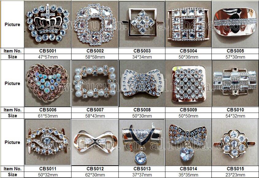 rhinestone metal shoe accessories C1.jpg