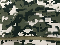 camouflage printing softshell fabric for Army