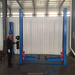 High quality two post hydraulic hoists car lift bridge 220v/cheap car lifts/portable lifts for cars