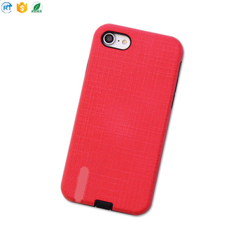 whole sale TPU+PC Phone Case, Electroplating TPU+PC Mobile Phone Case for iphone 7
