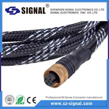 UL approved cable female 5pin circular connector