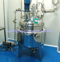 100L batch jacket heating reactor for epoxy resin