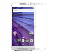 newest anti-blue ray anti-scratch anti-explosion 9H 2.5D tempered glass protector for MOTO X PLAY