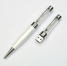 Free Shipping New USB Stick Crystal Pen 4gb