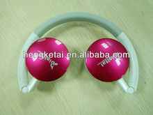 SD Card Reader Headphone with FM,MP3 Player Headphone