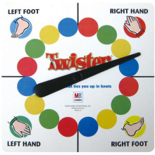 Classic Sports Floor Board Twister Game