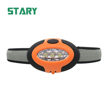 STARY 3 f5 led light headlamp powered by 2 cr2032 button cells