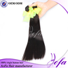 Cheapest Factory Price 12-36 Inch 1B Color Peruvian Human Hair Weaving From Aofa Hair