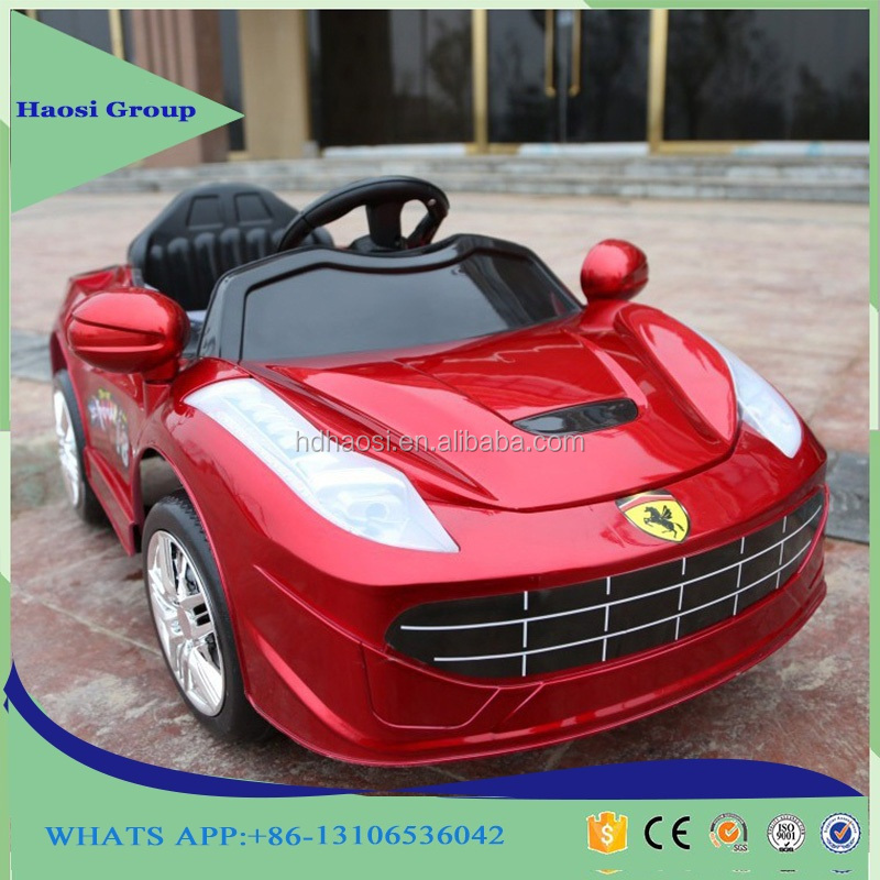 Children Electronic Toy Car 12V Electric Ride on Toys Licensed Electric Car For Kids