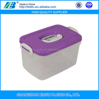 Useful plastic storage box for clothes Customized plastic storage box, hard strong plastic box for storage