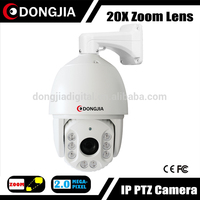 DJ-IPPTZ305-A20 High Speed Dome Waterproof 20X Optical Zoom Waterprpoof 1080P 360 Degree Rotation IP Camera 2MP