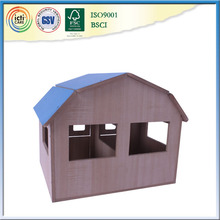 Indoor games, DIY Miniature Wooden Dollhouse Mini house
