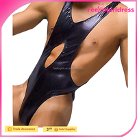 Hot Wholesale Cheap Stretch Faux Leather Fabric For Clothing For Men