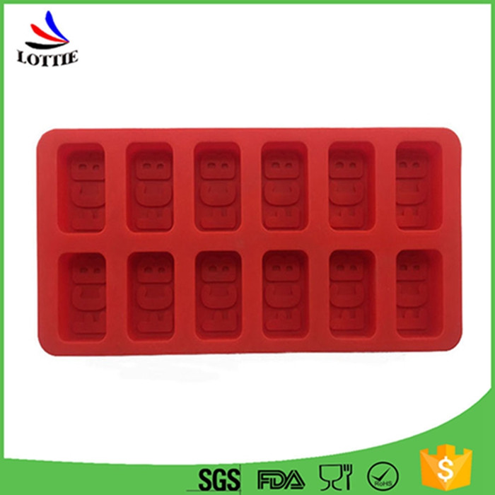 Food grade ice cutting tools personalized ice tray Silicone Ice Pop Molds