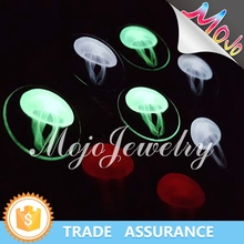 Creative Printed Mysterious Jellyfish Pattern Wholesale Fashion Jewelry for Necklaces and Bracelets Glow In The Dark Charm