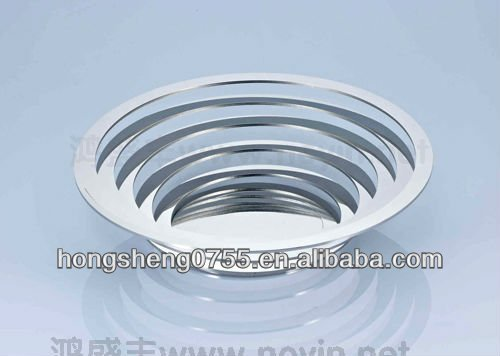 wholesale Decorative Metal plate Tray /Fruit Tray / Fruit Plate