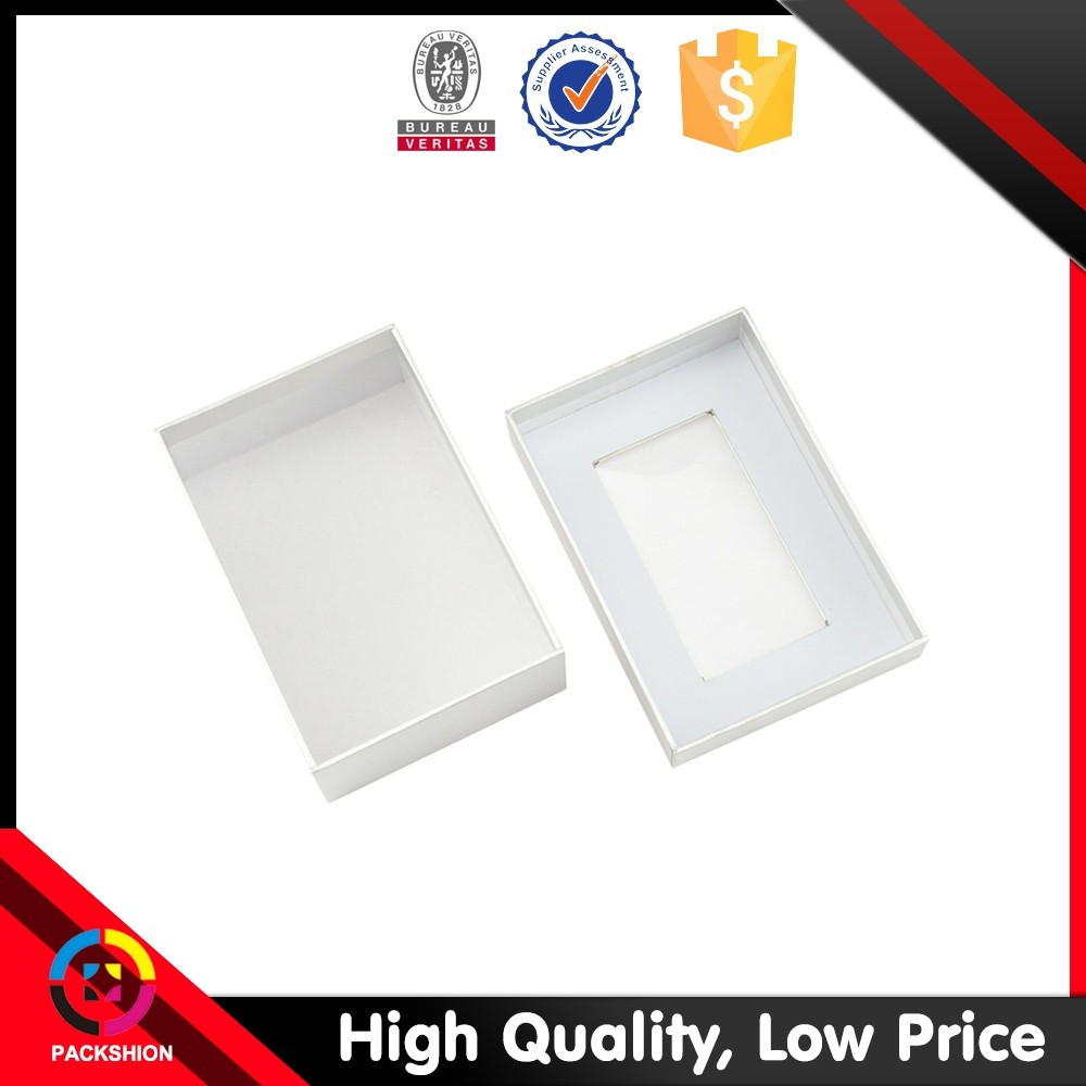 High Sales Cardboard Paper Display Jewelry Packaging Box With Clear Window
